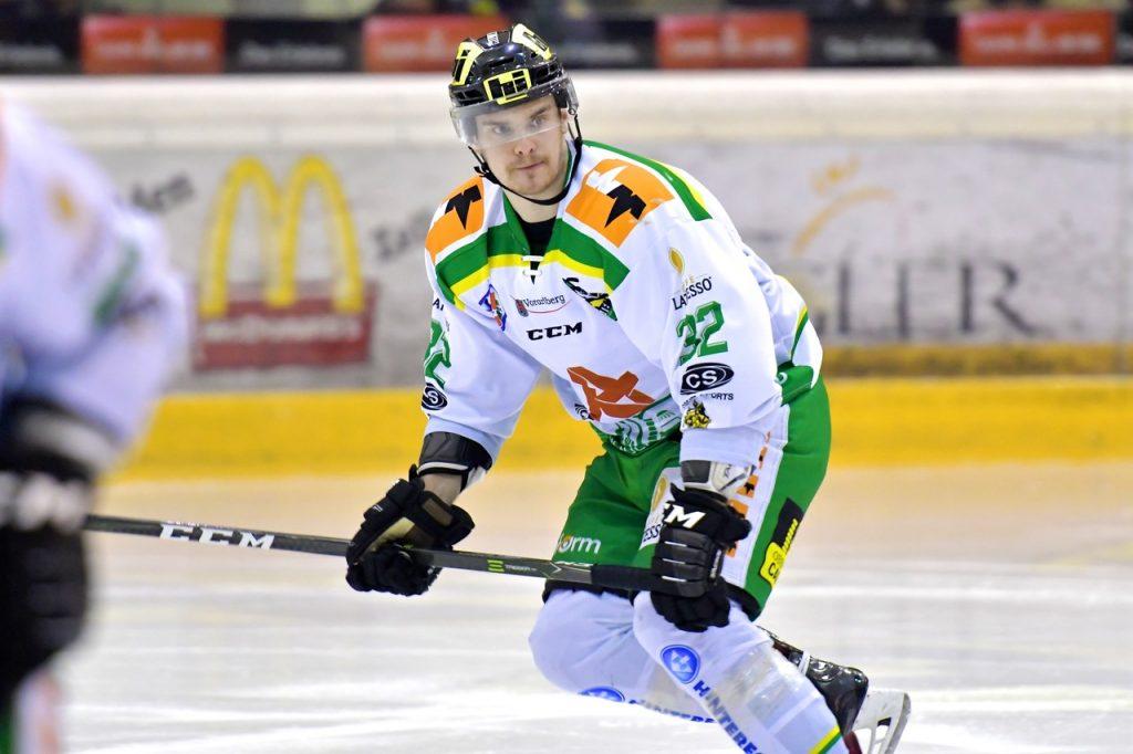 """Gilt als harter aber äusserst fairer Spieler, wird von vielen """"SIR"""" am Eis genannt und muss die Saison frühzeitig beenden. #32 Daniel Stefan"""