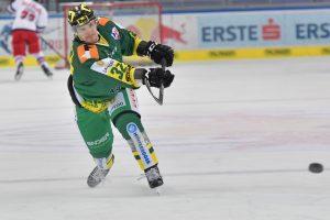 In 9 Spielen 7 Scorerpunkte und 8 Siege Daniel Stefan #32 EHC Lustenau